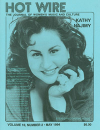 HOT WIRE - Kathy Najimy Cover