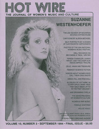 HOT WIRE - Suzanne Westenhoefer Cover